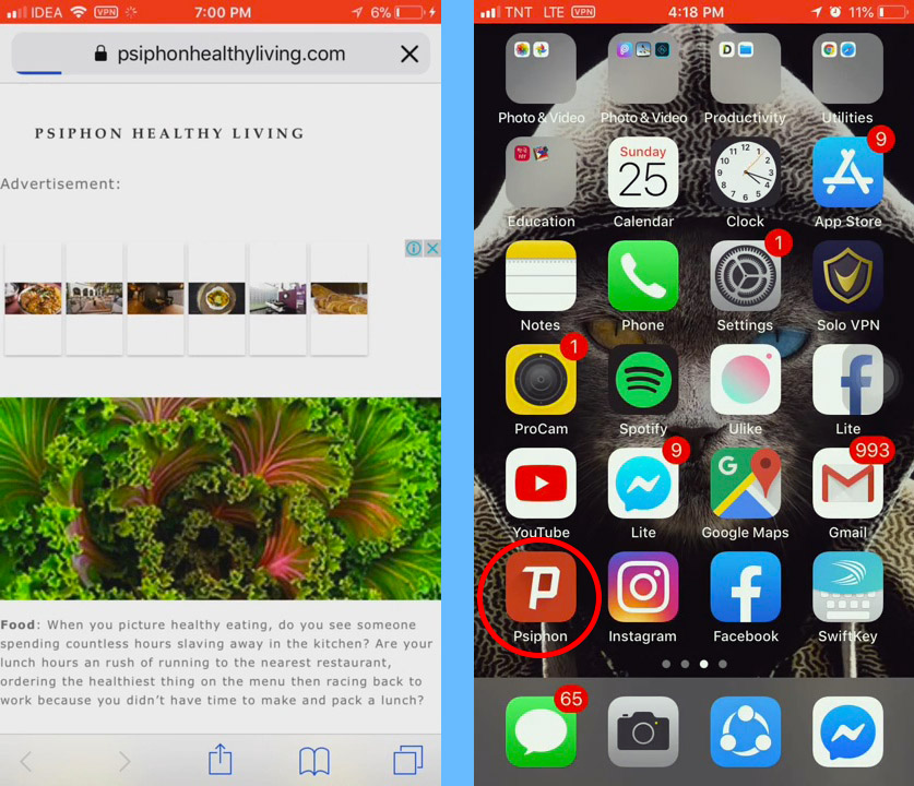 psiphon download iphone